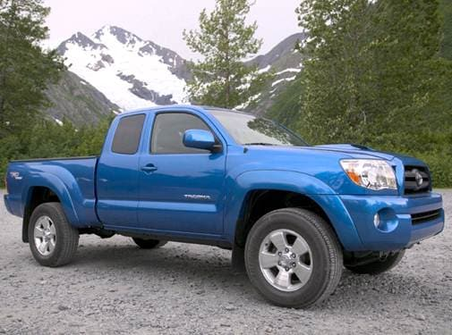 Top Consumer Rated Trucks of 2008 - 2008 Toyota Tacoma Access Cab