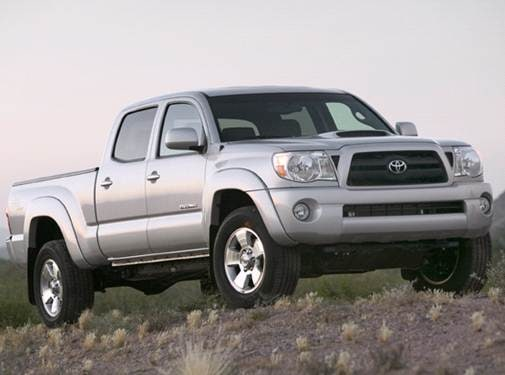 Top Consumer Rated Trucks of 2008 - 2008 Toyota Tacoma Double Cab