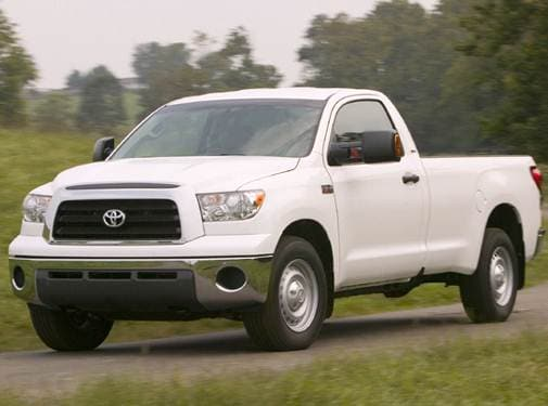 Top Consumer Rated Trucks of 2008 - 2008 Toyota Tundra Regular Cab