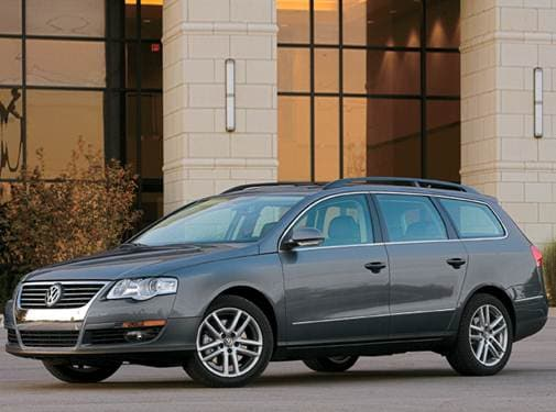 Highest Horsepower Wagons of 2008 - 2008 Volkswagen Passat