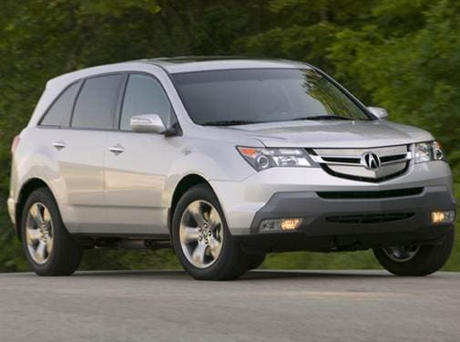 Highest Horsepower Crossovers of 2009 - 2009 Acura MDX
