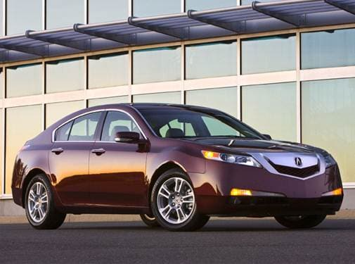 Top Consumer Rated Luxury Vehicles of 2009 - 2009 Acura TL