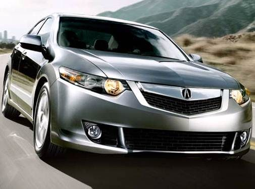 Top Consumer Rated Sedans of 2009 - 2009 Acura TSX