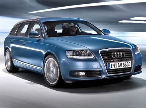 Top Consumer Rated Wagons of 2009 - 2009 Audi A6