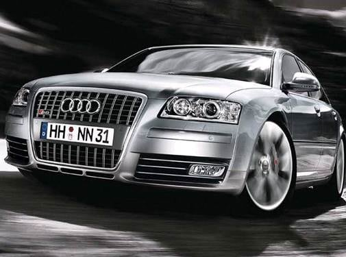 Top Consumer Rated Sedans of 2009 - 2009 Audi S8