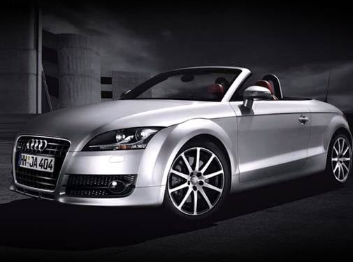Most Fuel Efficient Convertibles of 2009 - 2009 Audi TT