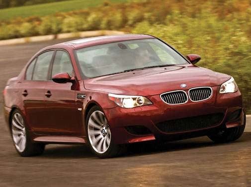 Top Consumer Rated Sedans of 2009 - 2009 BMW M5