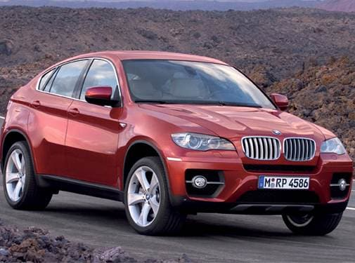 Top Consumer Rated SUVS of 2009 - 2009 BMW X6