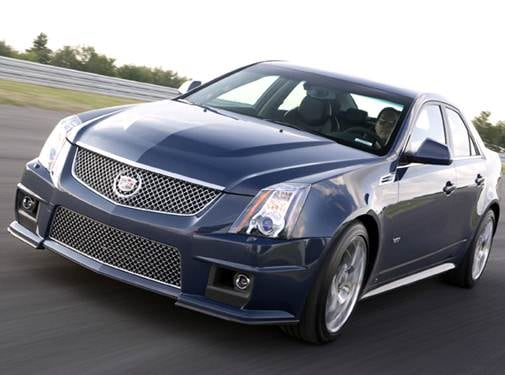 Highest Horsepower Sedans of 2009 - 2009 Cadillac CTS