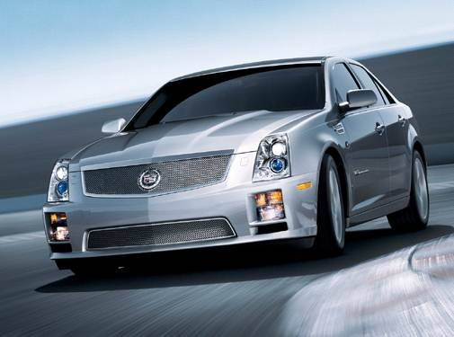 Highest Horsepower Sedans of 2009 - 2009 Cadillac STS