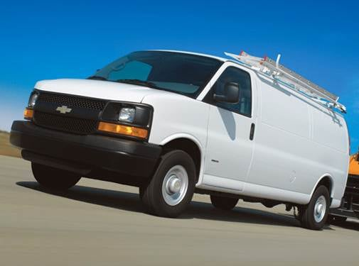 Most Fuel Efficient Van/Minivans of 2009 - 2009 Chevrolet Express 1500 Cargo
