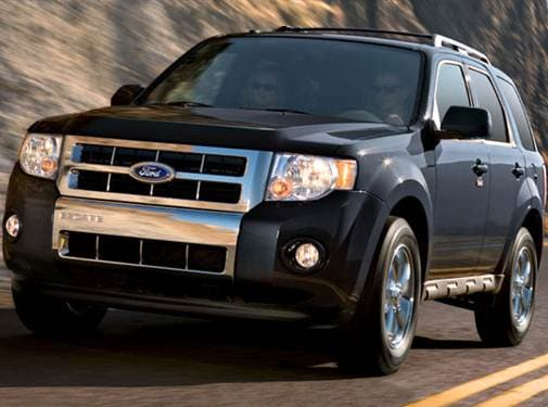 Most Popular Crossovers of 2009 - 2009 Ford Escape
