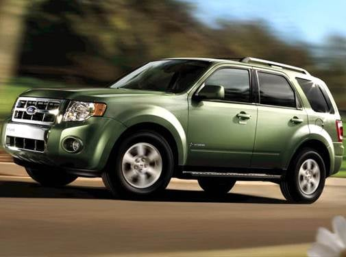 Most Fuel Efficient Hybrids of 2009 - 2009 Ford Escape