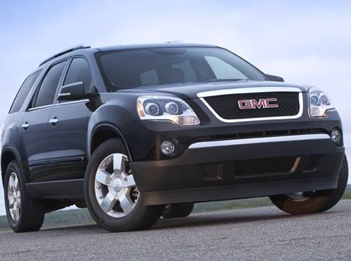 Most Popular Crossovers of 2009 - 2009 GMC Acadia