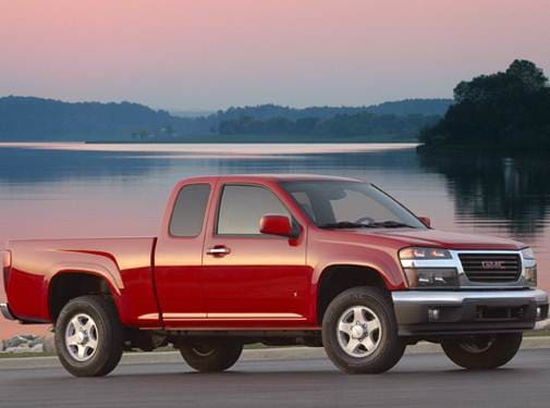 Most Fuel Efficient Trucks of 2009 - 2009 GMC Canyon Extended Cab