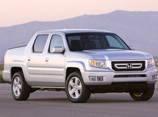 Most Popular Crossovers of 2009 - 2009 Honda Ridgeline