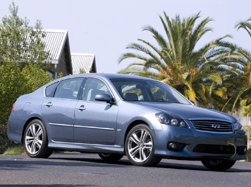 Top Consumer Rated Sedans of 2009 - 2009 INFINITI M