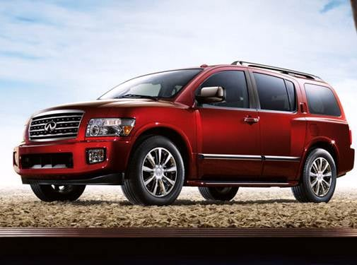 Top Consumer Rated SUVS of 2009 - 2009 INFINITI QX