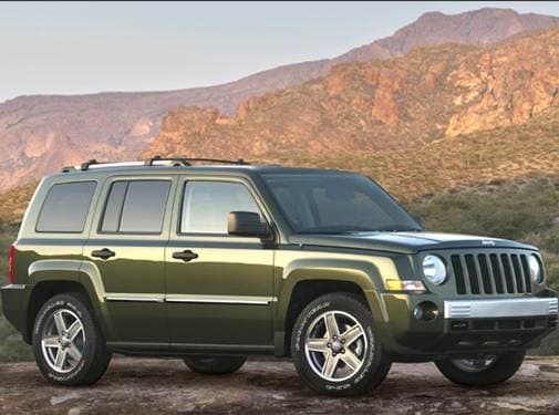 Most Fuel Efficient SUVS of 2009 - 2009 Jeep Patriot