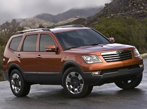 Top Consumer Rated SUVS of 2009 - 2009 Kia Borrego