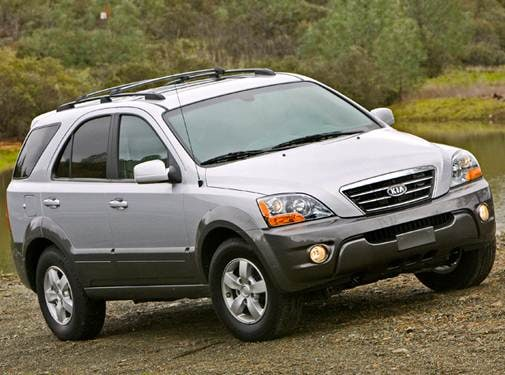 Most Popular Crossovers of 2009 - 2009 Kia Sorento