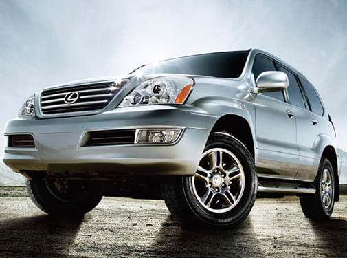 Top Consumer Rated SUVS of 2009 - 2009 Lexus GX