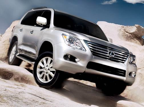 Top Consumer Rated SUVS of 2009 - 2009 Lexus LX
