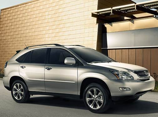 Most Popular Crossovers of 2009 - 2009 Lexus RX