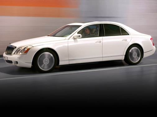 Highest Horsepower Sedans of 2009 - 2009 Maybach 57