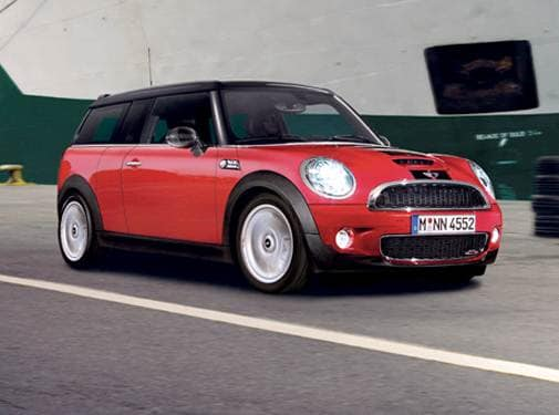 Most Fuel Efficient Hatchbacks of 2009 - 2009 MINI Clubman