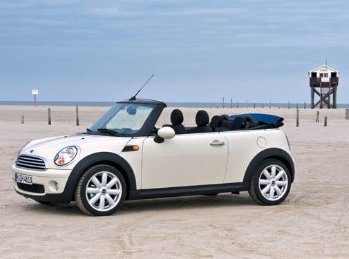 Most Fuel Efficient Convertibles of 2009 - 2009 MINI Convertible