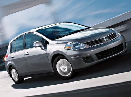 Most Fuel Efficient Hatchbacks of 2009 - 2009 Nissan Versa
