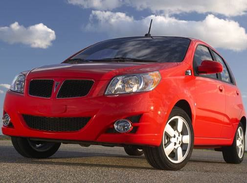 Most Fuel Efficient Hatchbacks of 2009 - 2009 Pontiac G3