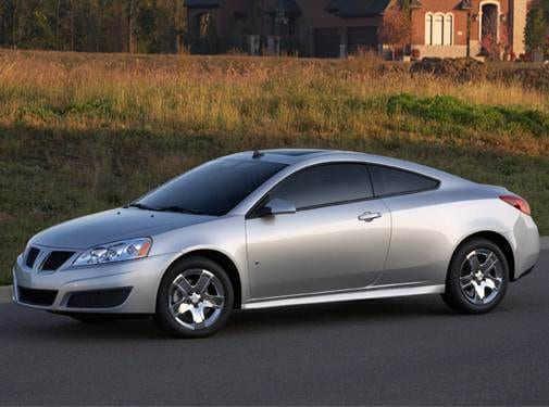 Most Popular Coupes of 2009 - 2009 Pontiac G6 (2009.5)