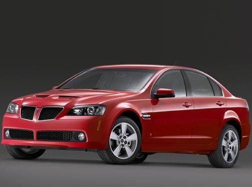 Top Consumer Rated Sedans of 2009 - 2009 Pontiac G8
