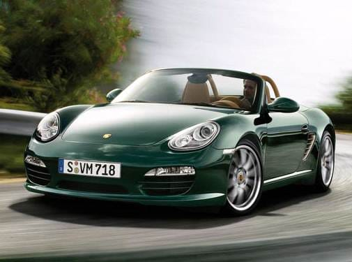 Most Fuel Efficient Convertibles of 2009 - 2009 Porsche Boxster