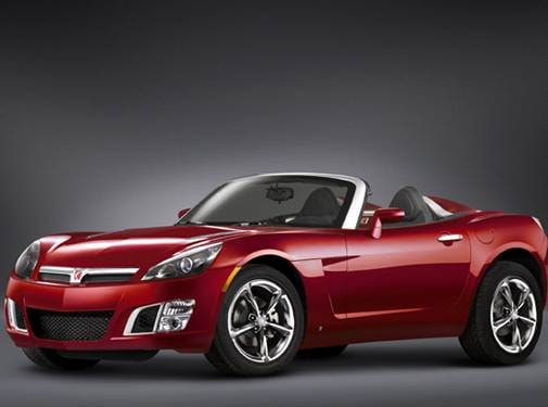 Most Fuel Efficient Convertibles of 2009 - 2009 Saturn SKY