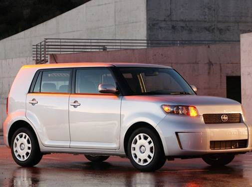 Top Consumer Rated Wagons of 2009 - 2009 Scion xB