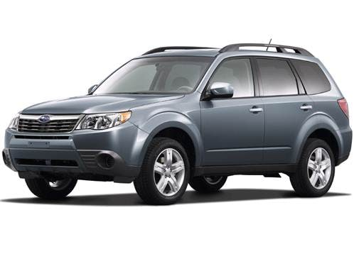 Most Fuel Efficient SUVS of 2009 - 2009 Subaru Forester