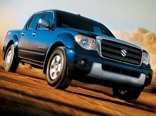 Top Consumer Rated Trucks of 2009 - 2009 Suzuki Equator Crew Cab