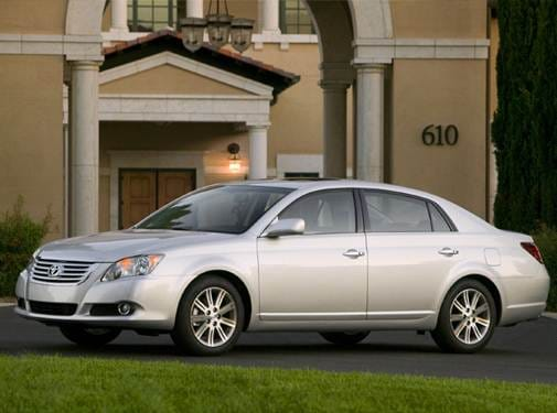 Top Consumer Rated Sedans of 2009 - 2009 Toyota Avalon
