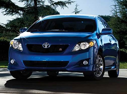 Most Fuel Efficient Sedans of 2009 - 2009 Toyota Corolla