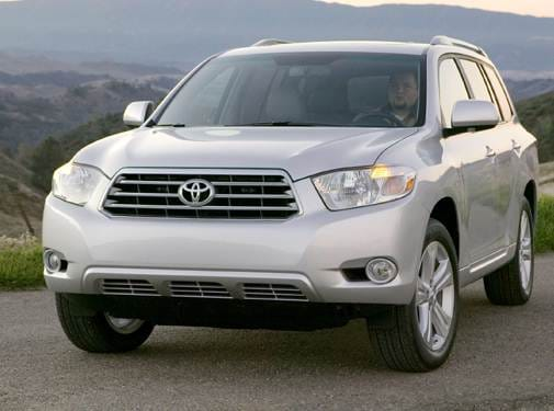 Top Consumer Rated SUVS of 2009 - 2009 Toyota Highlander