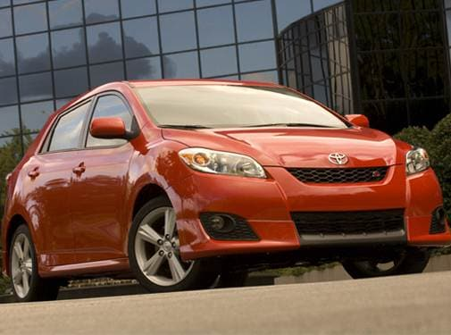 Most Fuel Efficient Wagons of 2009 - 2009 Toyota Matrix