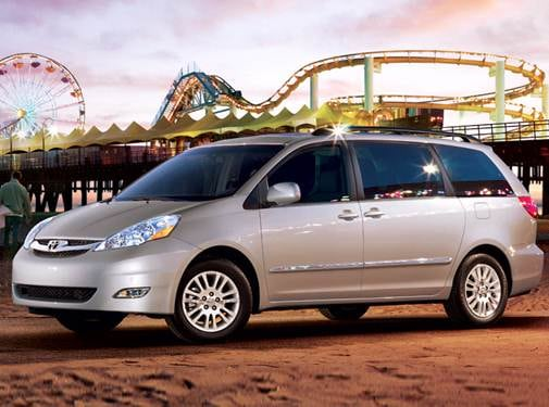 Most Fuel Efficient Van/Minivans of 2009 - 2009 Toyota Sienna