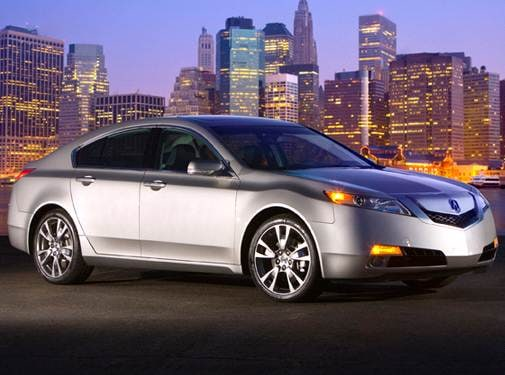 Top Consumer Rated Luxury Vehicles of 2010 - 2010 Acura TL