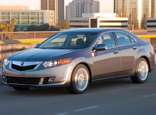 Most Fuel Efficient Luxury Vehicles of 2010 - 2010 Acura TSX