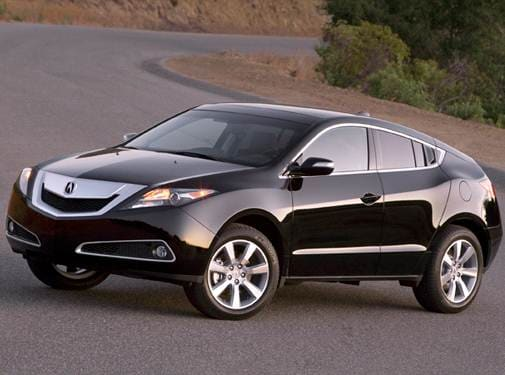 Top Consumer Rated SUVS of 2010 - 2010 Acura ZDX