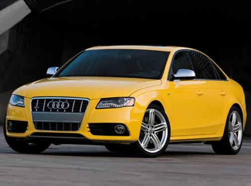 Top Consumer Rated Sedans of 2010 - 2010 Audi S4