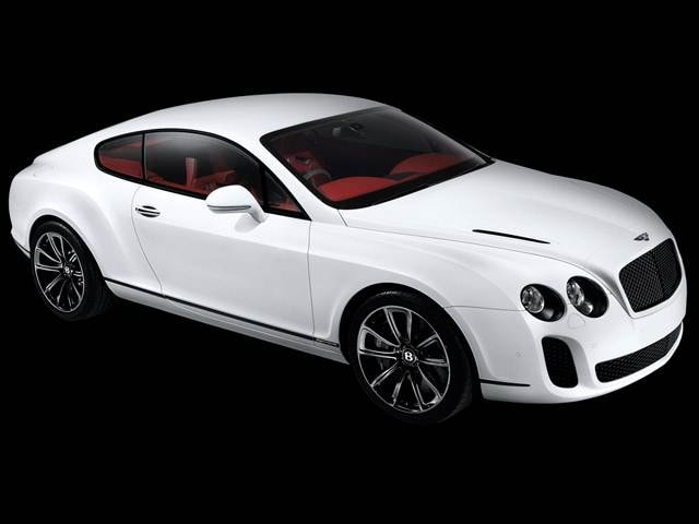 Highest Horsepower Coupes of 2010 - 2010 Bentley Continental